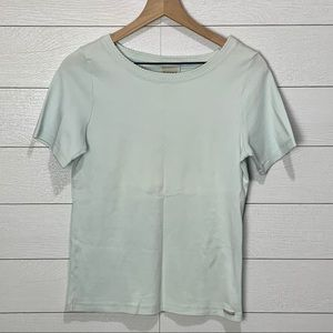NWT Blue Willi's Small Tee in Pale Blue/Mint